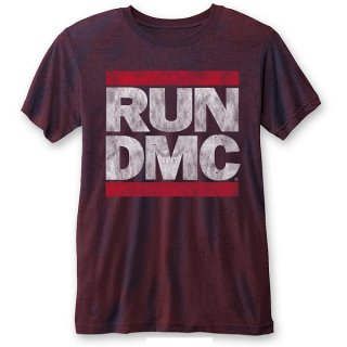 RUN DMC Dmc Logo (Burn Out), Tシャツ