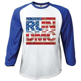 RUN DMC Americana (Large), ラグラン七分袖シャツ