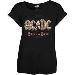 AC/DC Rock or Bust 2, レディースTシャツ