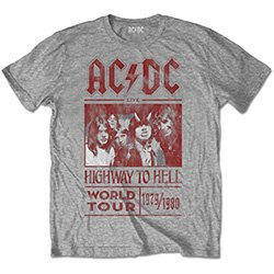 AC/DC Highway to Hell World Tour 1979/1980 with Back Printing, Tシャツ