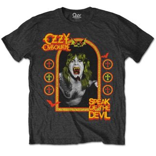 OZZY OSBOURNE Speak Of The Devil, Tシャツ