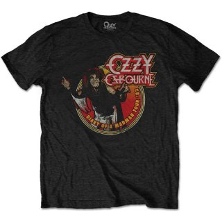 OZZY OSBOURNE Diary Of A Mad Man Tour 1982, Tシャツ
