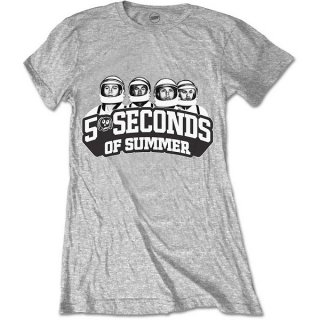 5 SECONDS OF SUMMER Spaced Out Crew, レディースTシャツ
