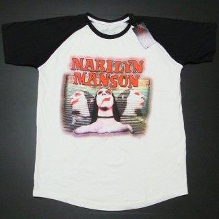 MARILYN MANSON Sweet Dreams, ラグランTシャツ