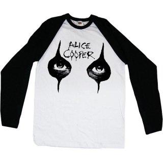 ALICE COOPER Eyes, ラグランロングTシャツ