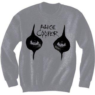 ALICE COOPER Eyes with Puff Print Finishing, スウェットシャツ