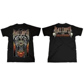 ALICE COOPER I am Halloween (Back Print), Tシャツ