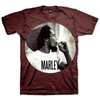 BOB MARLEY Smokin Circle, Tシャツ