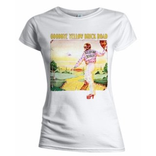 ELTON JOHN Goodbye Yellow Brick Road Album, レディースTシャツ