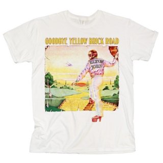 ELTON JOHN Goodbye Yellow Brick Road Album, Tシャツ