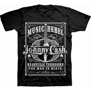 JOHNNY CASH Music Rebel, Tシャツ