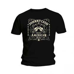 JOHNNY CASH American Rebel, Tシャツ