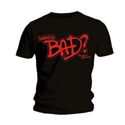 MICHAEL JACKSON Who's Bad, Tシャツ