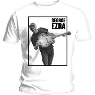 GEORGE EZRA Guitar With Skinny Fitting, レディースTシャツ