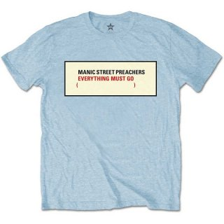 MANIC STREET PREACHERS Everything Must Go, Tシャツ