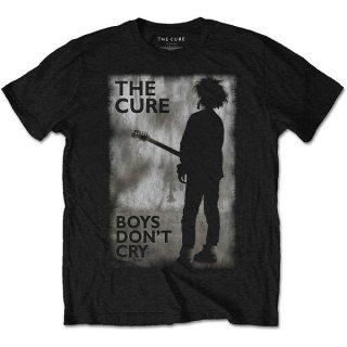 THE CURE Boys Don't Cry Black & White, Tシャツ