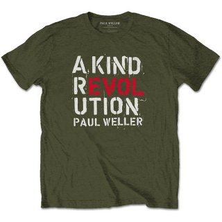 PAUL WELLER A Kind Revolution, Tシャツ