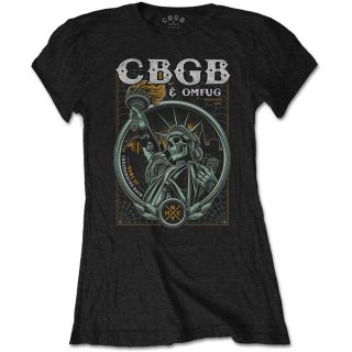CBGB Liberty, レディースTシャツ
