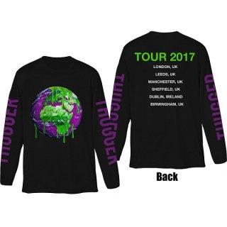 YOUNG THUG Thugger Globe (Back & Sleeve Print), ロングTシャツ