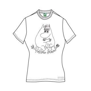 MOOMINS Wanna Dance?, レディースTシャツ