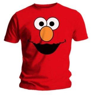 SESAME STREET Elmos Face Red, Tシャツ