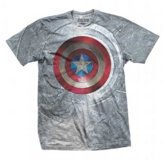 MARVEL COMICS Captain America Civil War Shield, Tシャツ