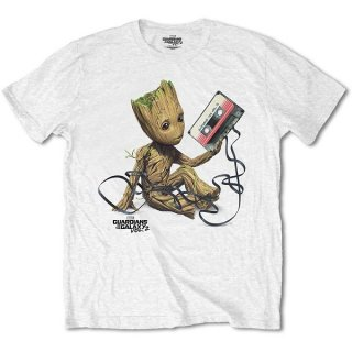MARVEL COMICS Guardians of the Galaxy V. 2 Groot with Tape, Tシャツ