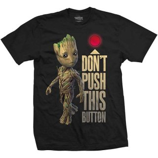 MARVEL COMICS Guardians of the Galaxy Vol. 2 Groot & Button, Tシャツ