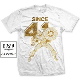 MARVEL COMICS Captain since 41, Tシャツ
