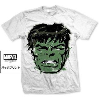 MARVEL COMICS Hulk Big Head Distressed, Tシャツ