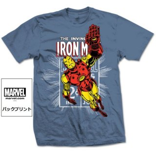 MARVEL COMICS Iron Man Stamp, Tシャツ