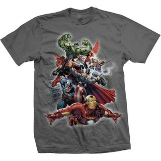 MARVEL COMICS Big Group, Tシャツ