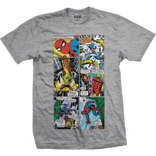 MARVEL COMICS Panels, Tシャツ