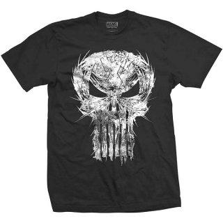 MARVEL COMICS Punisher Skull Spiked, Tシャツ