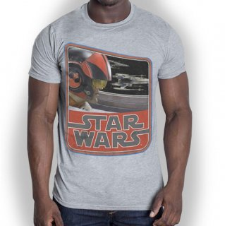 STAR WARS Episode VII Dameron Vintage, Tシャツ