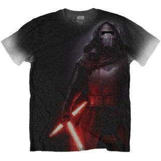 STAR WARS Kylo Side Print with Sublimation Printing, Tシャツ