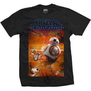 STAR WARS Episode VII BB-8 Composition, Tシャツ