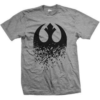 STAR WARS Episode VIII Rebel Logo Splintered, Tシャツ