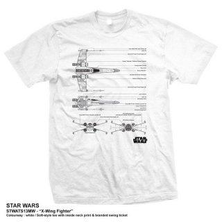 STAR WARS X-Wing Fighter, Tシャツ