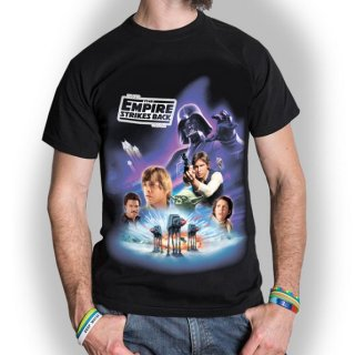 STAR WARS The Empire Strikes Back Montage, Tシャツ