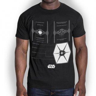 STAR WARS Tie Fighter, Tシャツ