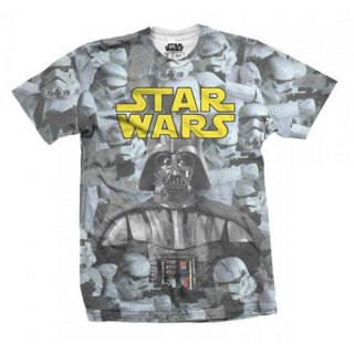 STAR WARS Imperial Photo Montage with Sublimation Printing, Tシャツ