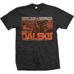 STUDIOCANAL Dr Who & The Daleks Blk, Tシャツ
