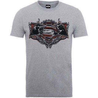 DC COMICS Batman v Superman Gothic Logo, Tシャツ