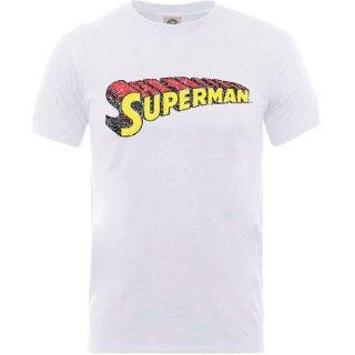 DC COMICS Originals Superman Telescopic Crackle Logo, Tシャツ