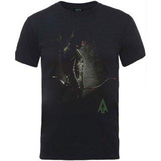 DC COMICS Arrow Hooded Focus, Tシャツ
