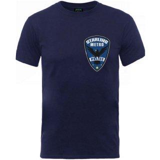 DC COMICS Arrow Starling Metro Badge, Tシャツ