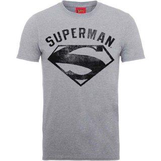DC COMICS Superman Logo Spray, Tシャツ
