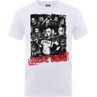 DC COMICS Suicide Squad Harleys Gang, Tシャツ