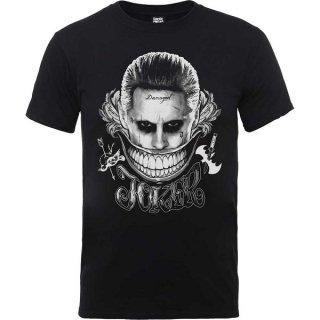 DC COMICS Suicide Squad Joker Smile Blk, Tシャツ